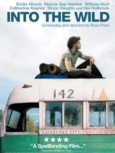 Movie poster Into the Wild 2007